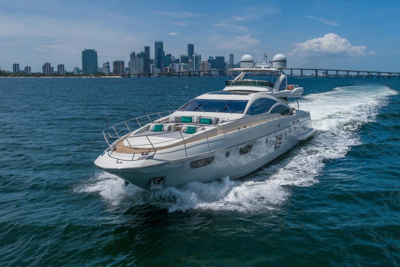 103' Azimut luxury yacht miami charters