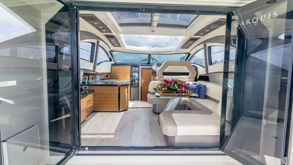 43' Marquis luxury yacht charters miami 2