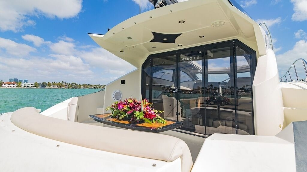 43' Marquis luxury yacht charters miami 6