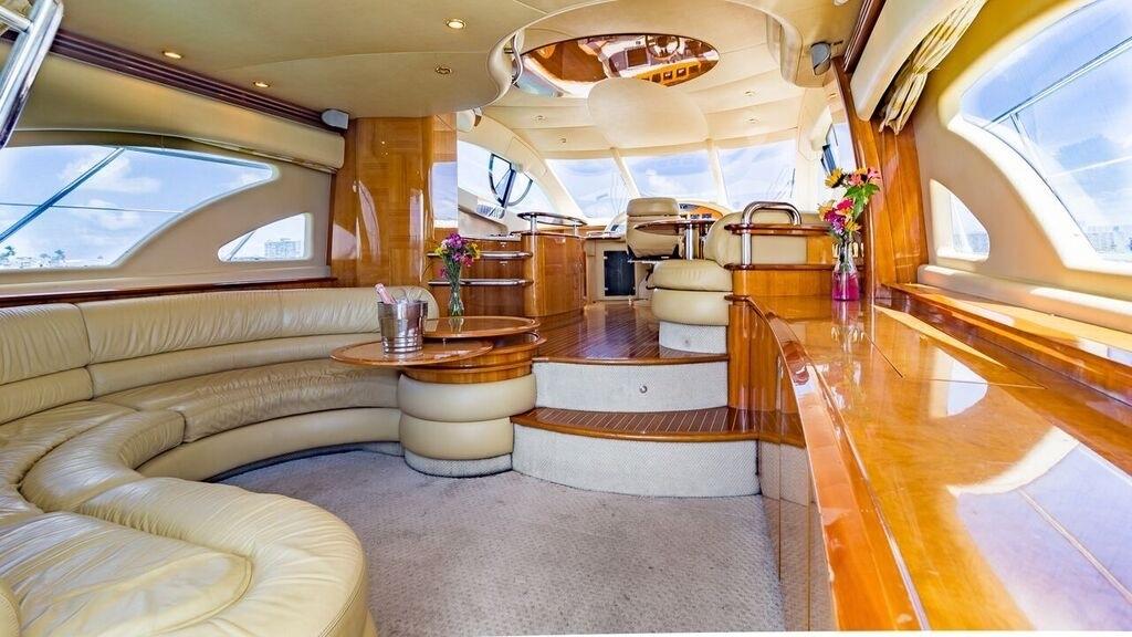 55' Azimut Luxury Yacht Charters Miami 4