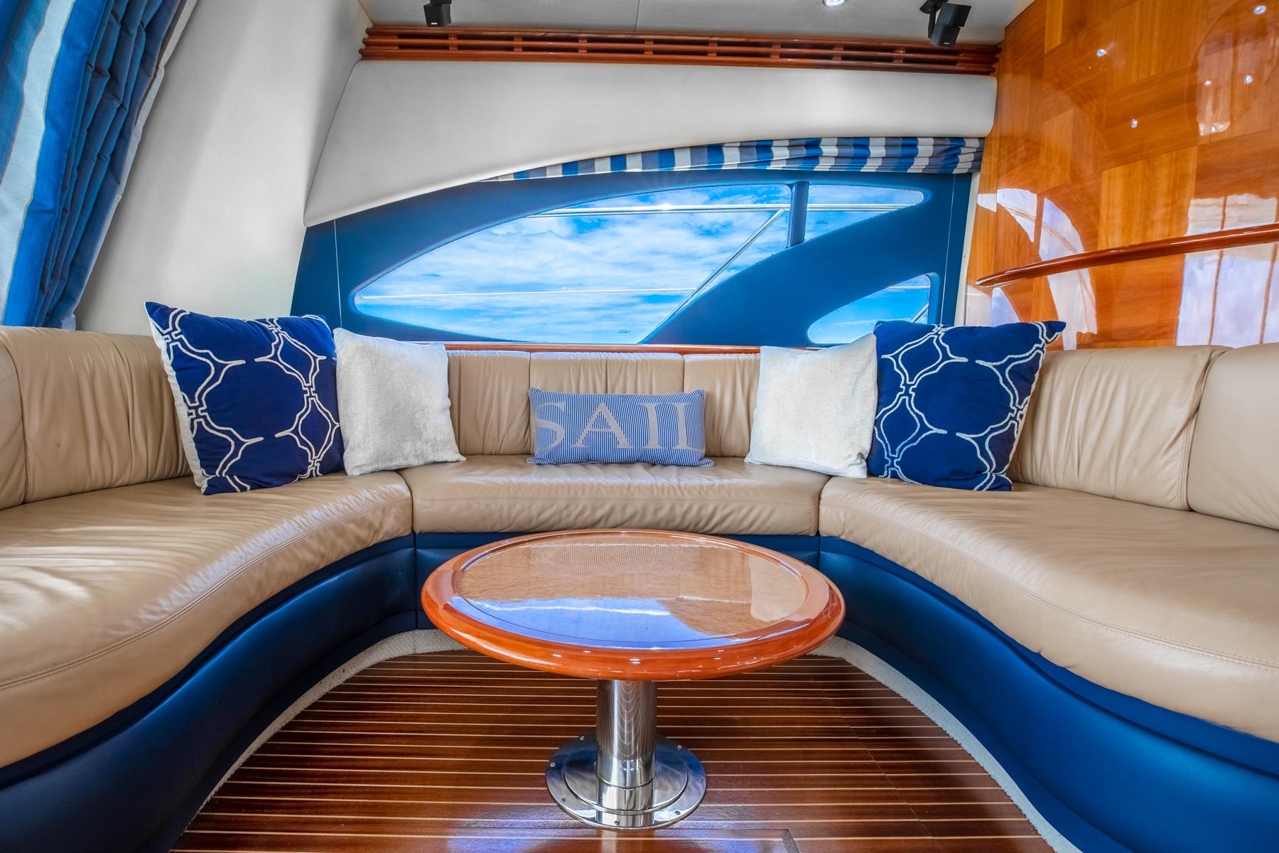 62 azimut Luxury Yacht Charters Florida 2