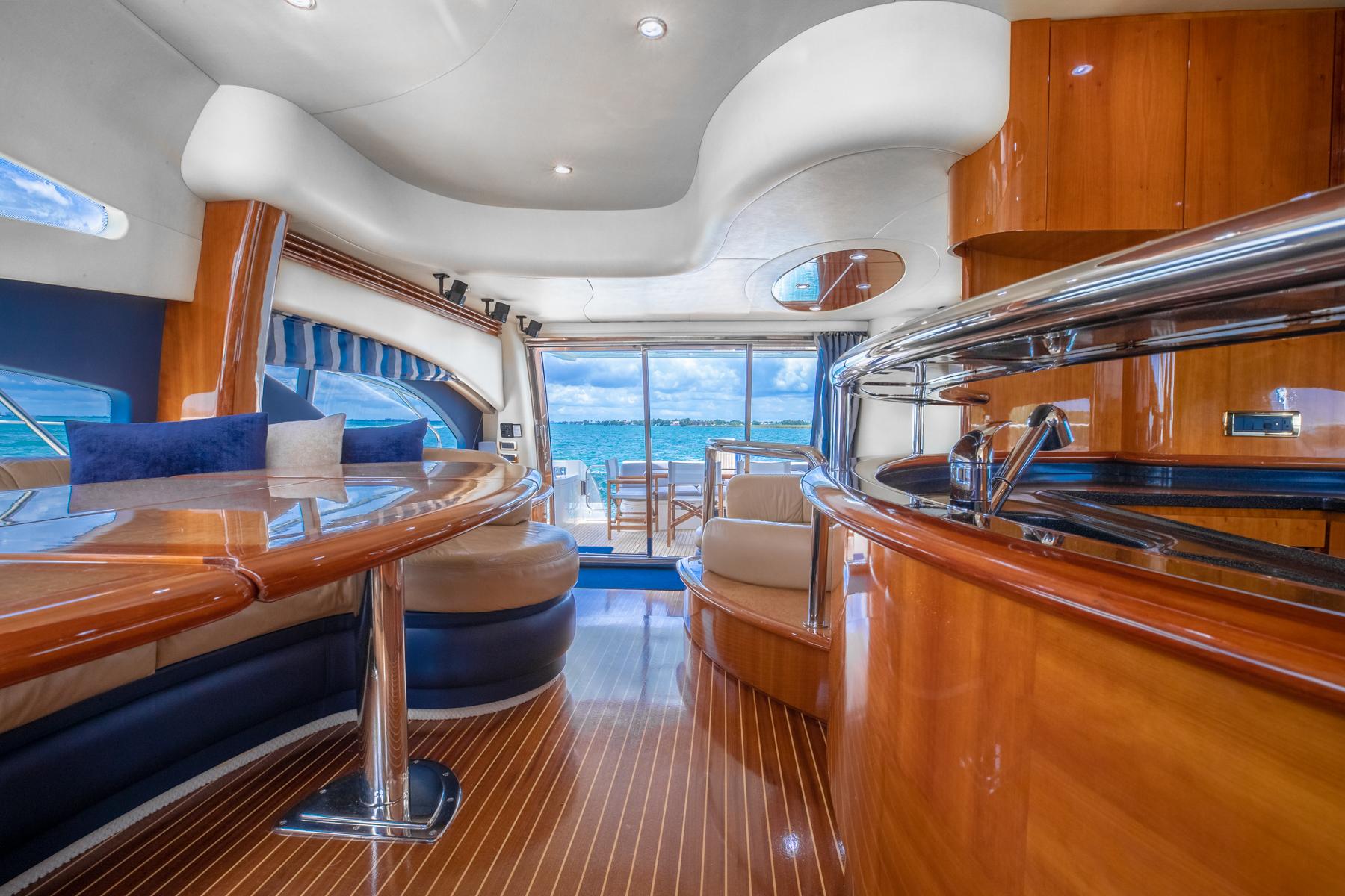 62 azimut Luxury Yacht Charters Florida 6