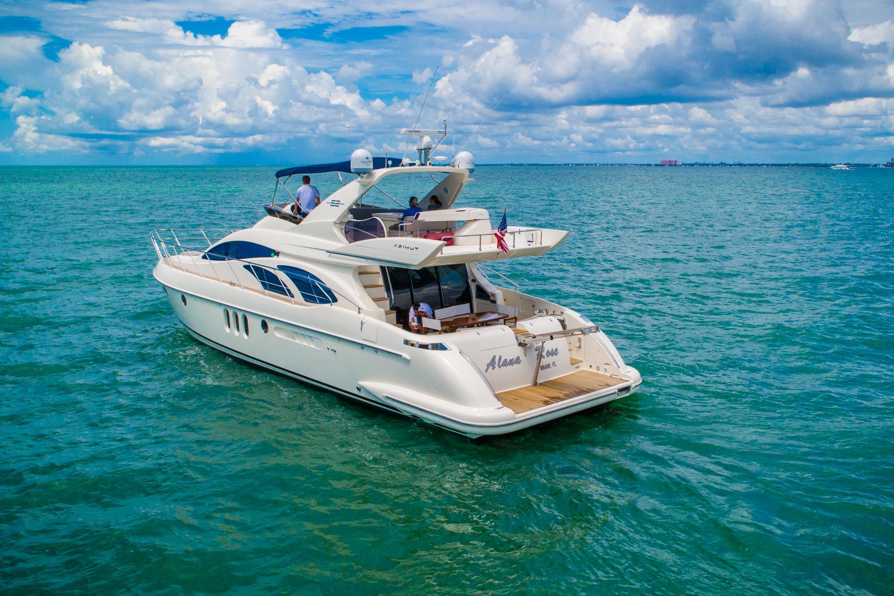 62 azimut Luxury Yacht Charters Florida